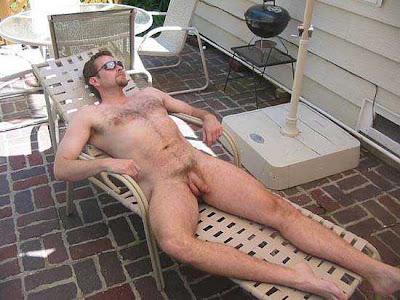 hot naked guys relaxing