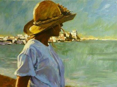 Ocean Girl, pintura de Aldo Luongo