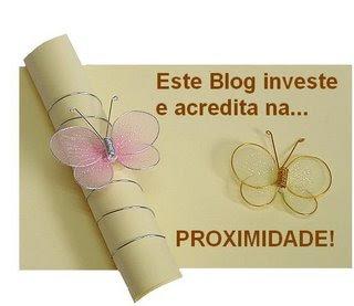 selo Este Blog Acredita e Investe na Proximidade