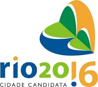 Logo oficial Rio 2016 - Cidade Candidata