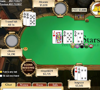 The All In Flush Draw
