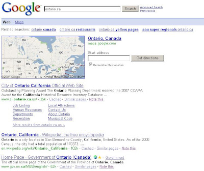 map of ontario ca. Map for Ontario, Canada;