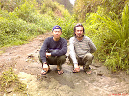 Me & Christian @ Saran Padang, North Sumatera