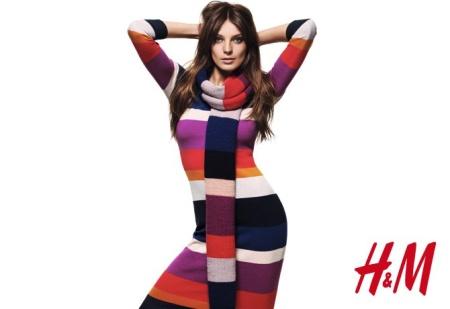 Kleidung von H & M Herbst 2012 warm