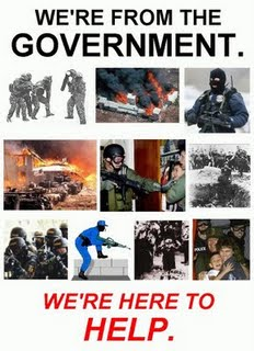 Were From Government And Were Here To >> Your Government Pretending To Help You The Burning Platform
