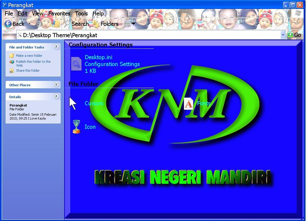 gambar tampilan desktop