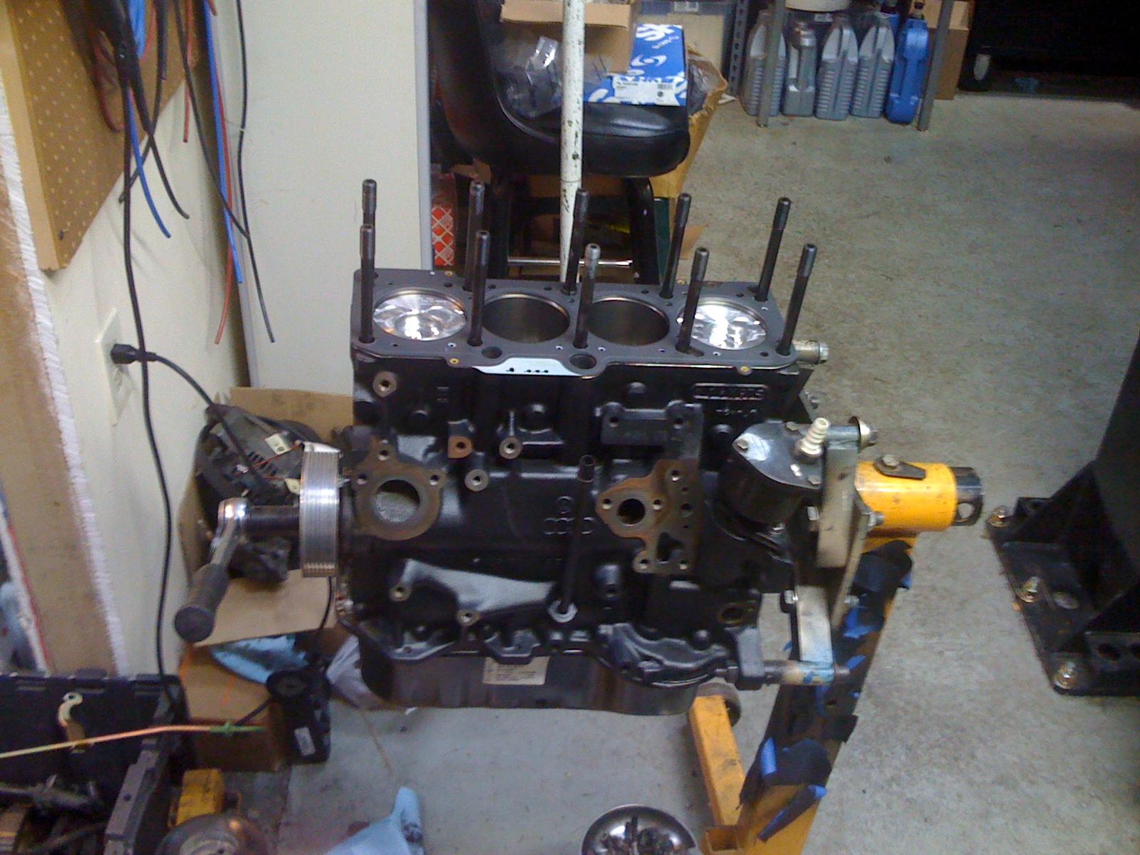 Grease Works shop notes: Eurovan 4-cyl AHU TDI engine