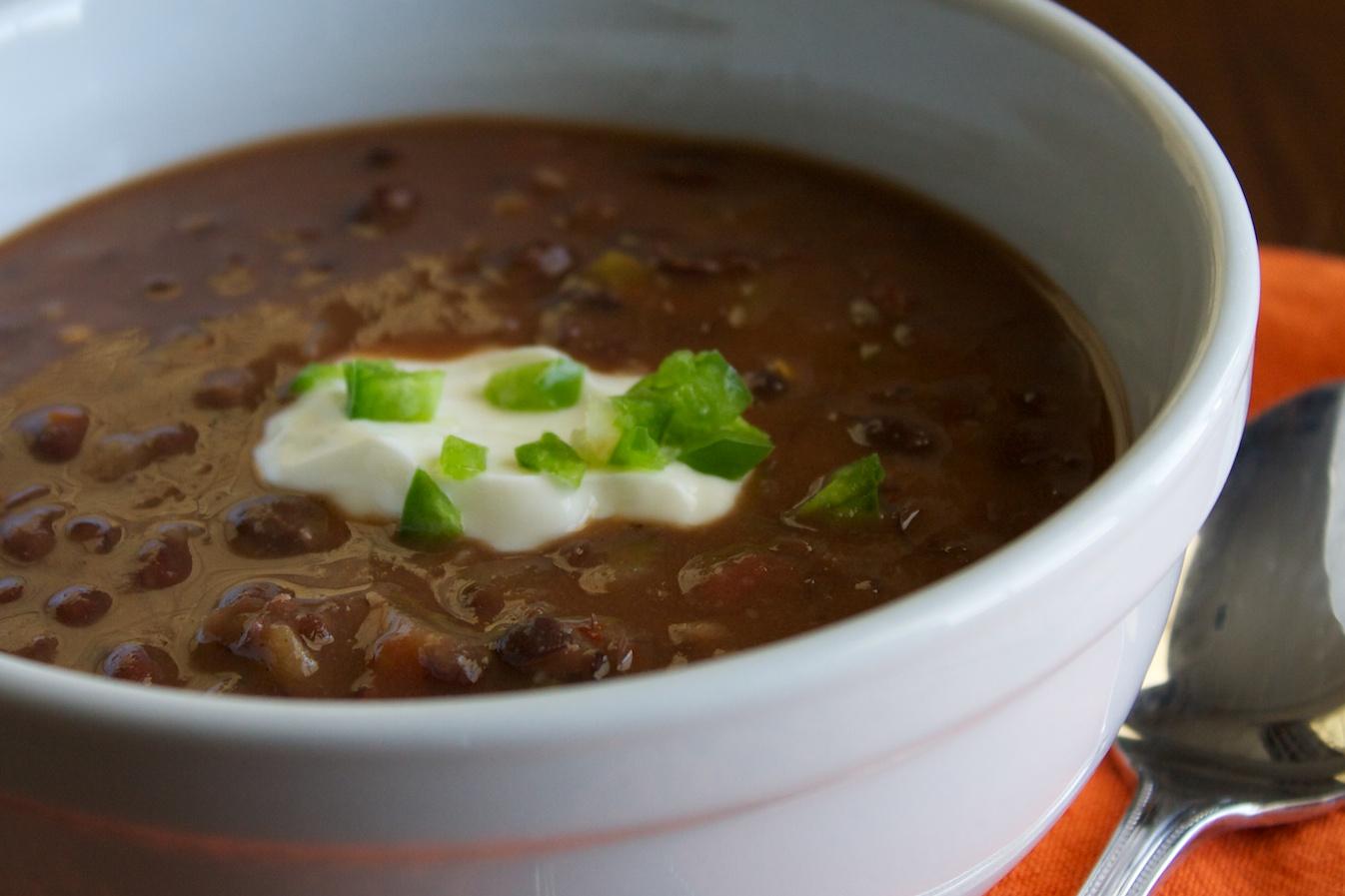 Black Bean Soup 111