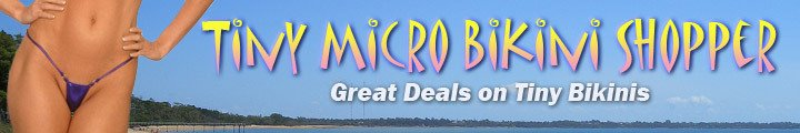 Tiny Micro Bikini Shopper