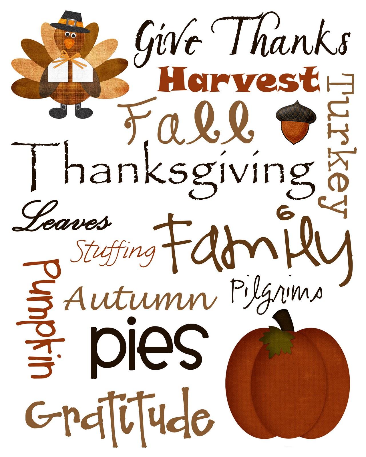 Thanksgiving Quotes Clip Art Quotesgram