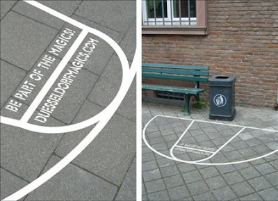 Guerilla Marketing Duesseldorf Magics