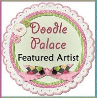 I was the Featured Artist at The Doodle Palace