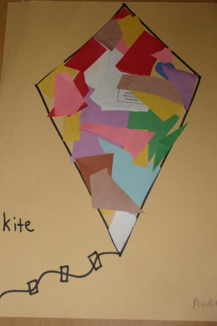 Letter K Kites Blessings Overflowing