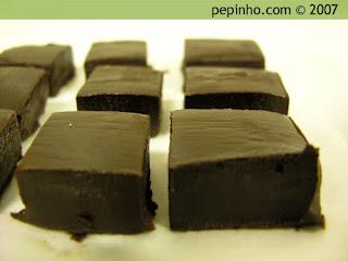Caramelos de chocolate y miel de Martine