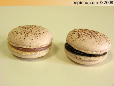 Macarons de frambuesa