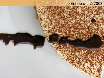 Tarta de mousse de chocolate, café y mascarpone