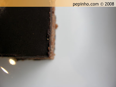 Pastel de cacao y Coca Cola