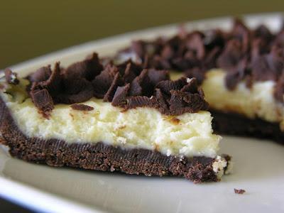 tarta de chocolate expreso y mascarpone