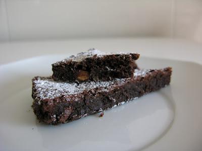 Pastel de chocolate (y almendras)