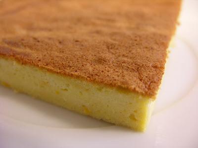 Tarta-pastel de queso y naranja