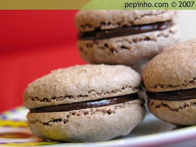 Macarons de chocolate II