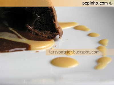Coulant de dulce de leche (y chocolate)