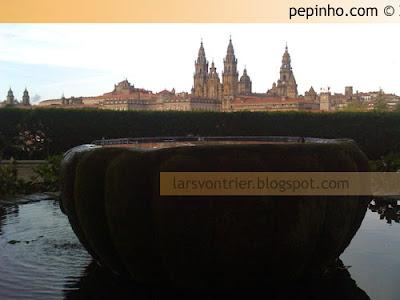 Santiago desde el paseo de La Herradura