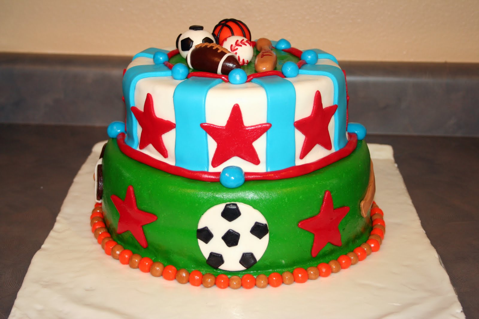 Cakes By Nicola Sports Cake