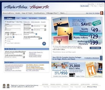 Alaska Airlines Reservations Alaska Air Reservations