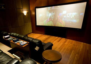 A Too Huge Home Theater Projector Screen And The Total Set Up Of Your System Should Be Great Consideration Designer May