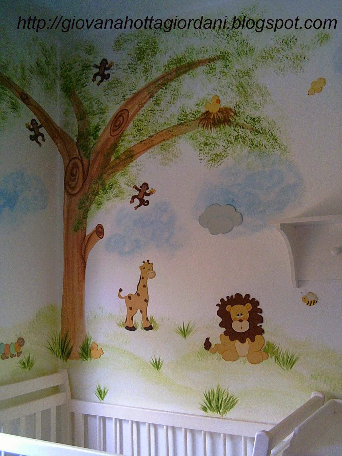 Giovana hotta giordani design de interiores pintura - Pintura decorativa para paredes ...