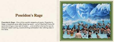Poseidon's Rage water park in Wisconsin Dells