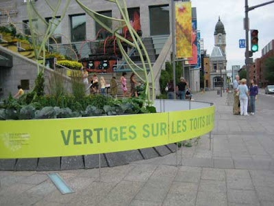Entry sign of the Vertige garden