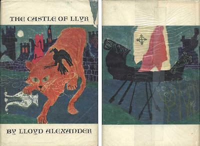 Cover of The Castle of Llyr with original art by Evaline Ness