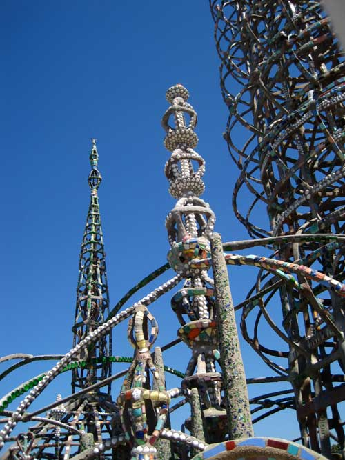 daughter number three  watts towers