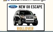 SUV rollover ad