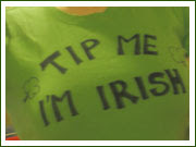 Tip me, I'm Irish