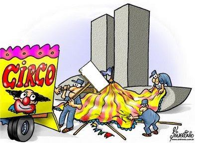 Resultado de imagem para congresso brasileiro charge