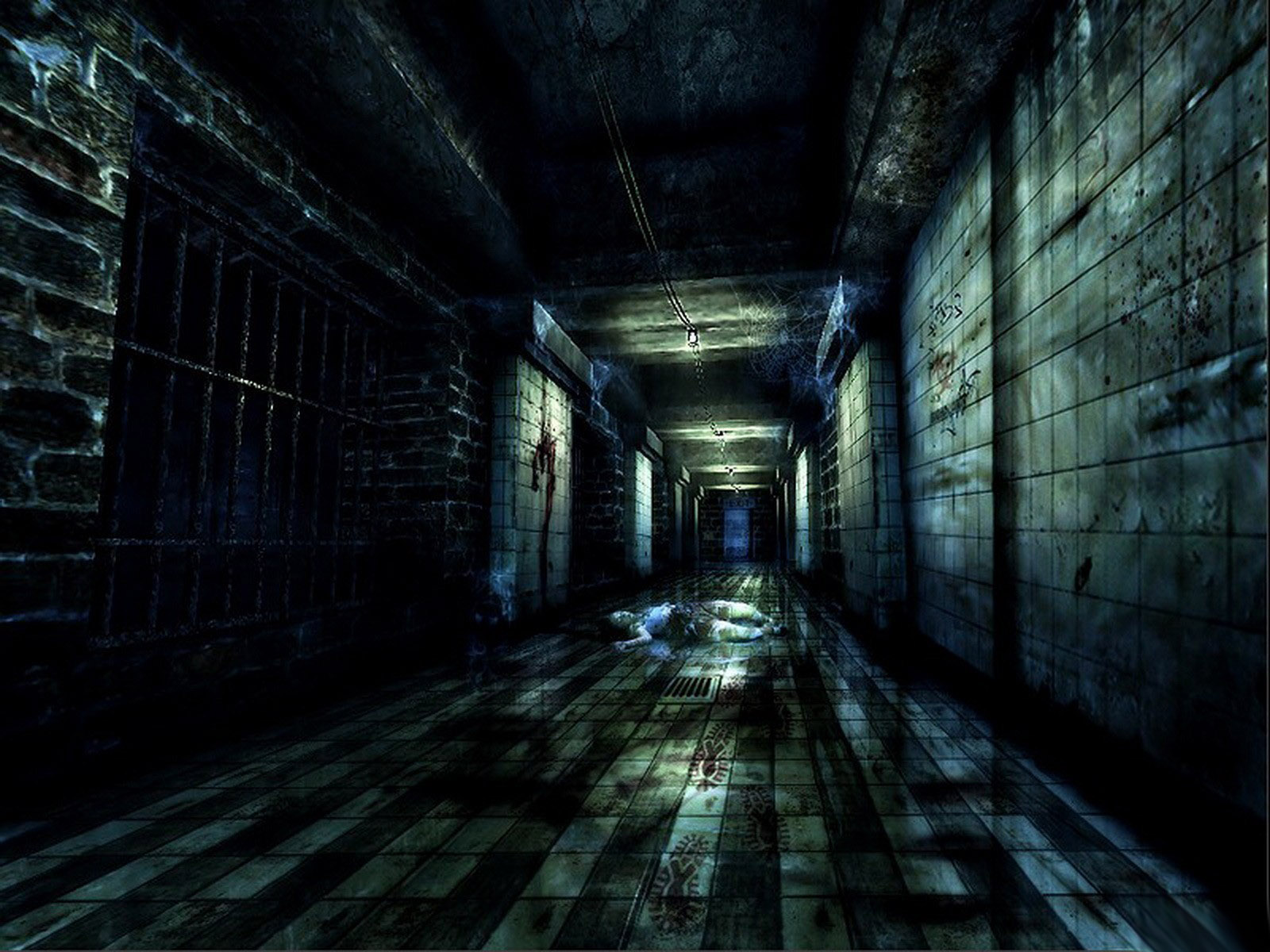 Dark Room: Nature Wallpapers: Scary The Maze