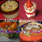 Autres desserts