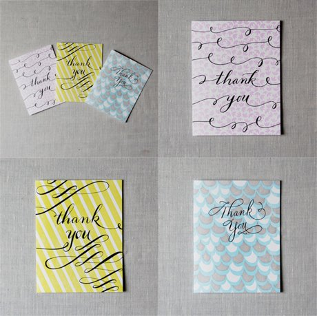 Thank You Notes by Linda & Harriett