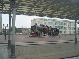 Trans Siberian Train Station