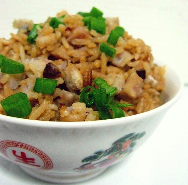 Saucing Around, Jo's Deli: Yam Rice (Taro Rice 芋头饭)