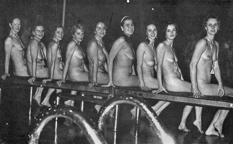 nudist Family contest pageant