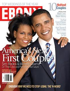 coperta revistei Ebony
