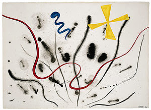Alexander Calder, Untitled, 1944, Olga Hirshhorn Collects, Corcoran Gallery of Art