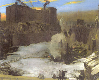 George Bellows, Pensylvania Station Excavation, 1907