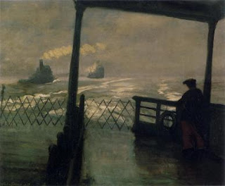 John Sloan, Wake of the Ferry, 1907, Phillips Cpllection, Washington DC