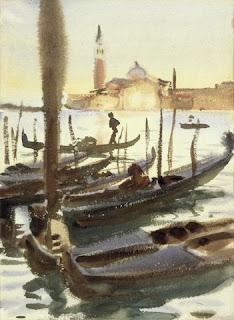 John Singer Sargent, Gondolas of San Giorgio Maggiore