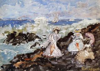 Maurice Prendergast, Surf, Cohasset